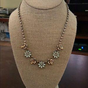Chloe & Isabel necklace with gemstone flowers